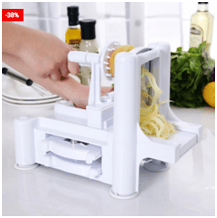 3 in 1 Tri-Blade Vegetable Slicer & Spiralizer